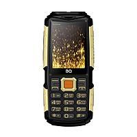 Мобильный телефон BQ-2430 Tank Power (Чёрный+Золотой )