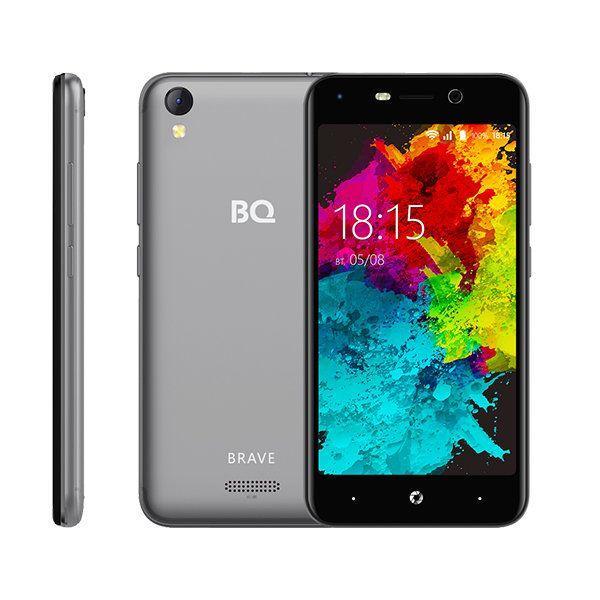 """Смартфон BQ-5008L Brave Gray 5"""" (Серый)"""