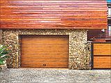 Гаражные секционные  ворота, фото 4