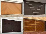 Гаражные секционные  ворота, фото 9