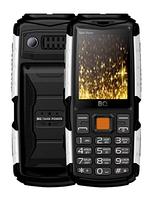 Мобильный телефон  BQ-2430 Tank Power (Чёрный+Серебро), фото 1