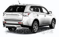 "Защита заднего бампера d57 ""волна"" длинная Mitsubishi Outlander 2014-"