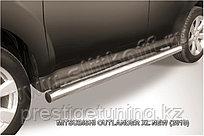 Защита порогов d76 труба Mitsubishi Outlander XL