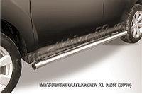 Защита порогов d57 труба Mitsubishi Outlander XL