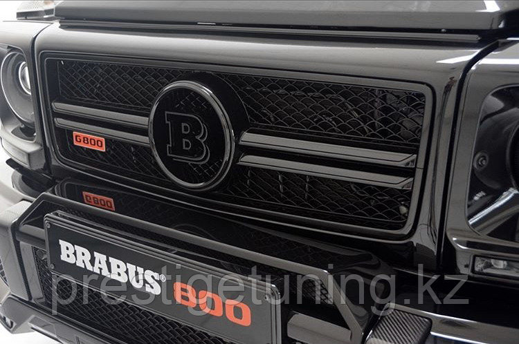 Накладка переднего бампера (домик) W463 G-class