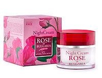 Ночной крем для лица Rose of Bulgaria