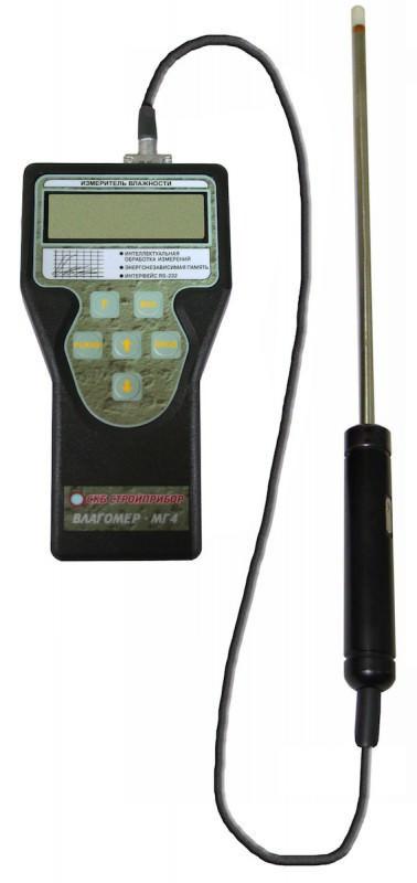 Измеритель влажности зондовый Влагомер-МГ4З