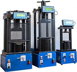 Прессы испытательные гидравлические малогабаритные на 50, 100, 500, 1000, 1500, 2000кН ПГМ-50МГ4, ПГМ-100МГ4,