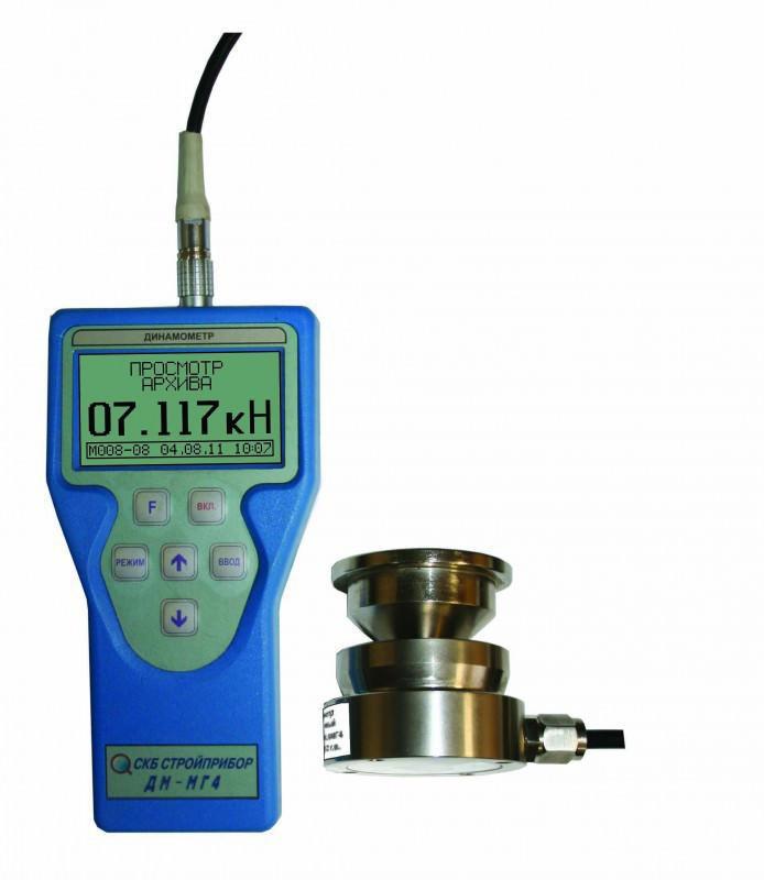 Электронные динамометры сжатия ДМС-МГ4