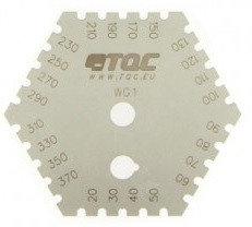 TQC Sheen SP4000 Гребенка для измерения толщины мокрого слоя