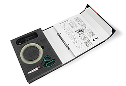 Набор для оценки степени запыленности поверхности по ISO 8502-3 TQC SP3200