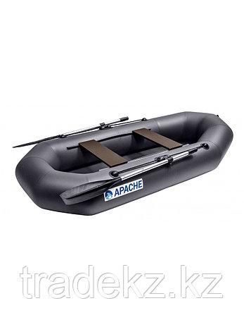 Лодка гребная ПВХ Apache 260 графит, фото 2