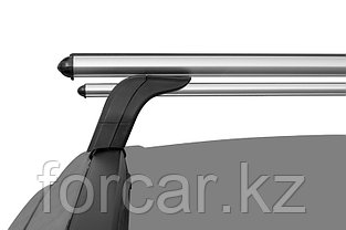 """Багажная система """"LUX"""" с дугами 1,2м аэро-классик (53мм) для а/м Audi Q3 2011-... г.в. с интегр. рейл., фото 3"""