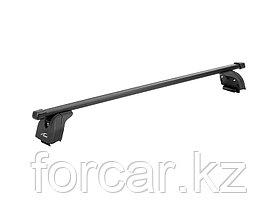 """Багажная система """"LUX"""" с дугами 1,3м прямоугольными в пластике для а/м Audi Q5 2008-... г.в. с интегр. рейл., фото 2"""