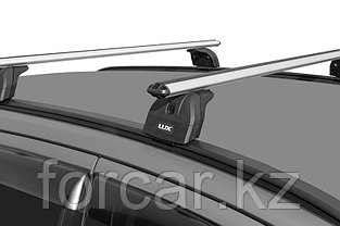 """Багажная система """"LUX"""" с дугами 1,2м аэро-классик (53мм) для а/м Audi Q7 2005-2015 г.в. с интегр. рейл., фото 3"""