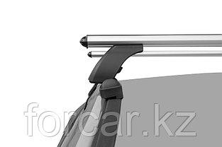Багажная система LUX с дугами 1,2м аэро-классик (53мм) для а/м Chevrolet Aveo Sedan 2011-... г.в., фото 3