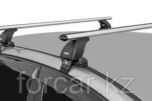 Багажная система LUX с дугами 1,2м аэро-классик (53мм) для а/м Chevrolet Aveo Sedan 2011-... г.в., фото 2