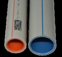 Труба ППР стекловолокно 50х6,9 PN16 SDR 7,4 белая длина 4 м 3-х слойная уп 32м 8 шт 0,93 кг/м СТМС