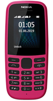 Мобильный телефон Nokia 105 TA-1174 DS (Розовый)