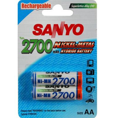 Аккумулятор Sanyo AA Ni-MH 2700mAh