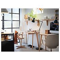 ОДГЕР Рабочий стул, белый, бежевый, фото 1
