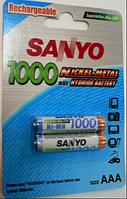 Аккумулятop SANYO AAA NI-MH 1000mA