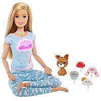"Barbie ""Здоровье"" Кукла Барби Йога Медитация, Дыши со мной"