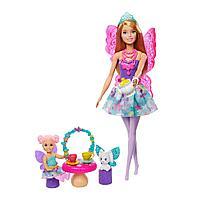 """Barbie """"Дримтопиа"""" Игровой набор - Сказочное Чаепитие, Фея Барби"""