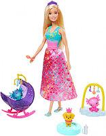 """Barbie """"Дримтопиа"""" Игровой набор - Няня дракона, Барби"""