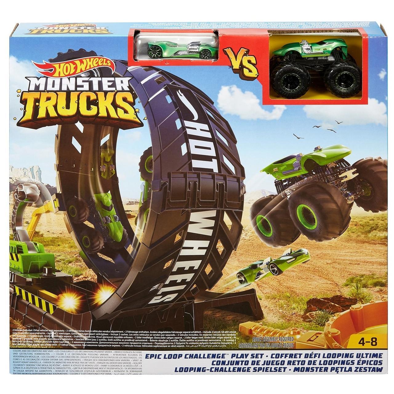"Hot Wheels Игровой набор ""Monster Trucks: Мертвая Петля"", Хот Вилс Монстр-трак"