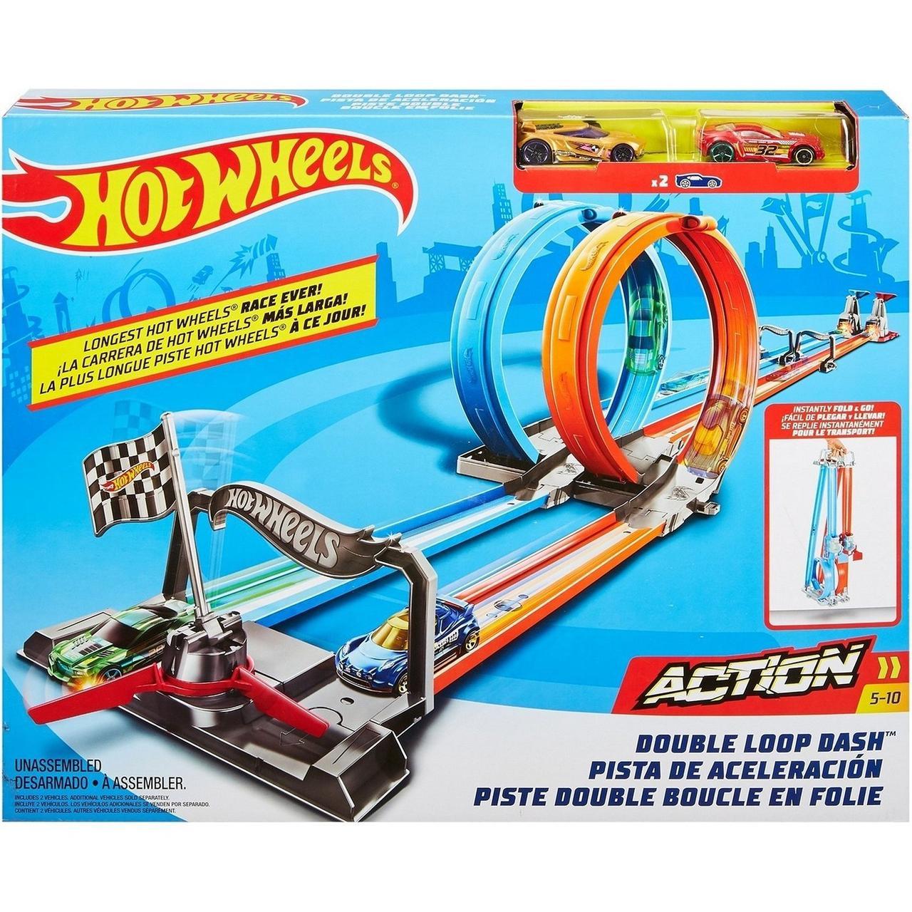 """Hot Wheels Набор """"ACTION: Скоростные мертвые петли"""", Хот Вилс"""