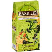 Чай зелёный рассыпной Букет Зеленая Свежесть Green Freshness, 100гр Basilur