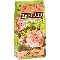 Чай зелёный рассыпной Букет Кремовая Фантазия Cream Fantasy, 100гр Basilur