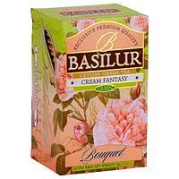 Чай зелёный пакетированный Букет Кремовая Фантазия Cream Fantasy, 20пак Basilur