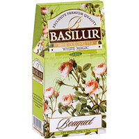 Чай зелёный рассыпной Букет Белое волшебство White Magic, 100гр Basilur