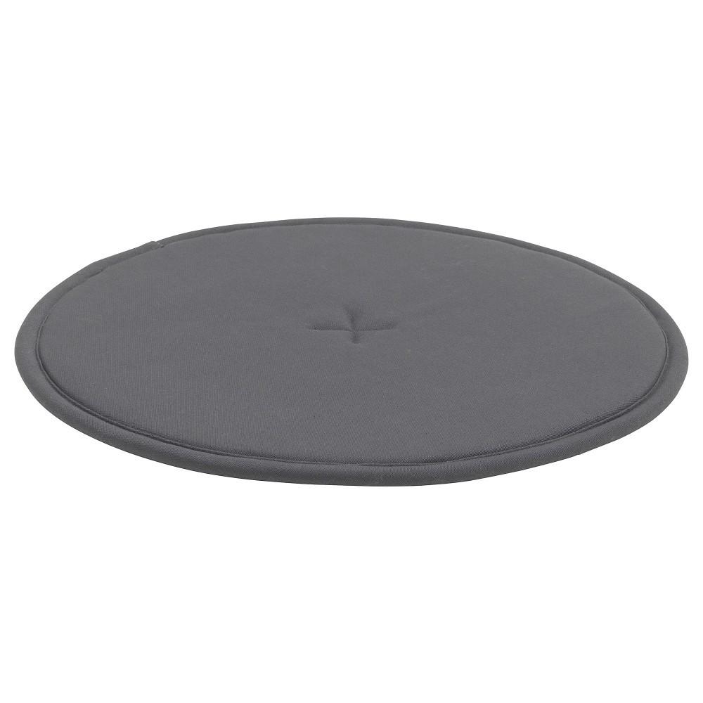 СТРОФЛИ Подушка на стул, темно-серый, 36 см - фото 3