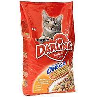 Корм Darling для кошек (Птица с овощами) - 10 кг