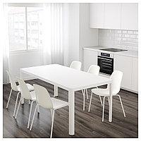 ТИНГБИ Стол, белый, 180x90 см, фото 1