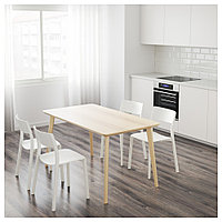 ЛИСАБО Стол, ясеневый шпон, 140x78 см, фото 1