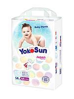 Трусики YokoSun М (6-10 кг) 58 штук