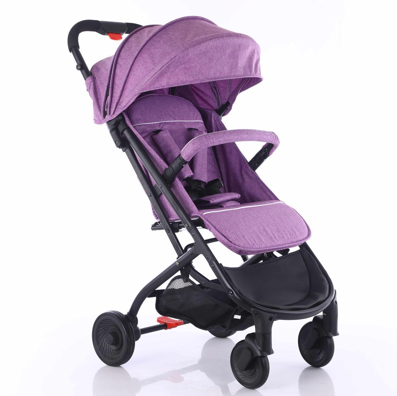 Прогулочная коляска А9, (фиолетовый)