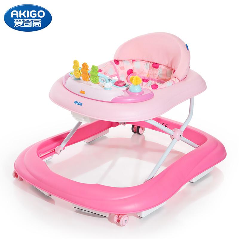 Детские ходунки AKIGO ABC, (pink)