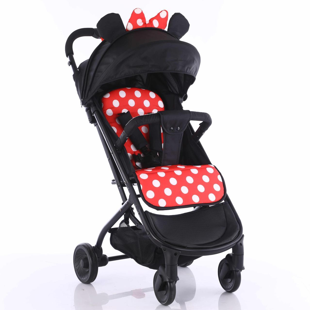Прогулочная коляска А9, (Minnie Mouse)