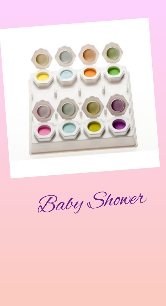 Коллекция цветных акрил Baby Shower Odyssey Nails Systems