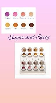 Коллекция цветных акрил Sugar and Spisy Odyssey Nails Systems