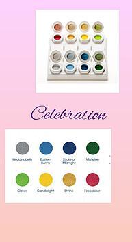 Коллекция цветных акрил Celebration Odyssey Nails Systems