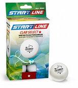 Мячи для настольного тенниса CLUB SELECT 1*, 6 мячей в упаковке