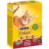 Корм Friskies для взрослых кошек (Мясо, курица и овощи) - 400 г