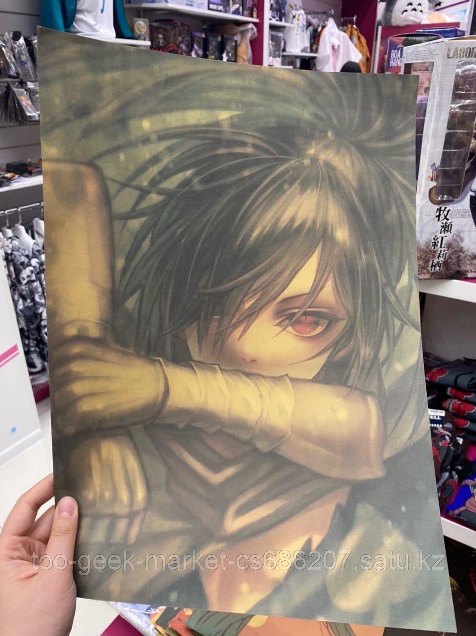 """Крафтовый постер """"Дороро. Хяккимару (вар. седьмой)"""""""