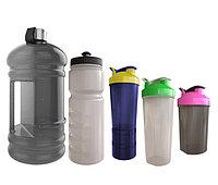 Бутылки для воды и шейкеры